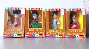 Vintage in box Dolls of all Nations