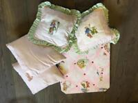Beatrix Potter cushions & hanging board