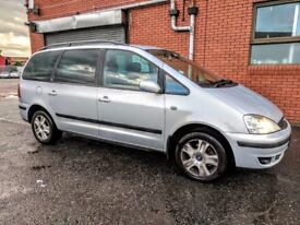 FORD GALAXY GUIA TDI AUTO 7 SEATER - EXC CONDITION-LONG MOT-QUICK SALE