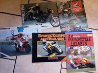 Old motorcycle leaflets