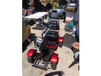 Sit on golf buggy lithium ion battery 36 hole range