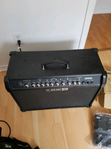 Line 6 spider 4 with express pedal