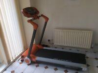 Body Sculpture Motorised Treadmill, 7 Months of Warranty Left