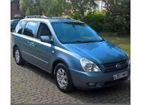 Kia sedona diesel 7 seater long mot with full service history