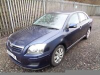 TOYOTA AVENSIS T2 1.8 5 DOOR PETROL 2007 BLUE 65,000 MILES MOT 10/03/18 EXCELLENT CONDITION