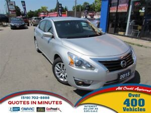2015 Nissan Altima BACKUP CAM | SAT RADIO | BLUE TOOTH