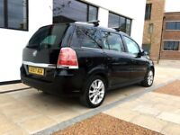 2007│Vauxhall Zafira 1.9 CDTi 16v Design 5dr Automatic │HALF LEATHER│HPI CLEAR
