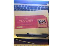 12 months Kids Pass Subscription voucher