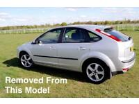 FORD FOCUS MK2 1.6 PETROL SILVER BREAKING FOR ALL PARTS