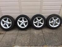 MX5 alloy wheels MX-5 alloys x4