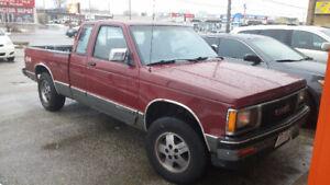 1991 GMC Sonoma SLS Pickup Truck