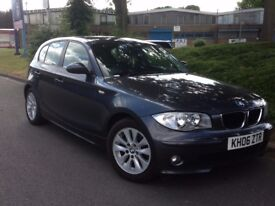 2006 BMW 1 SERIES 2 LITRE AUTOMATIC **11 MONTHS MOT** LOW MILES ONLY 66K*