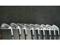 PING I25 irons 3- UW stiff