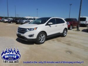 2016 Ford Edge Titanium  - $218.22 B/W - Low Mileage