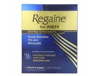 Regaine for Men Extra Strength Hair Regrowth Solution Dated 09/2017 60 ml