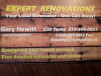 EXPERT RENOVATIONS - HOME RENOVATIONS FROM PAINTING TO FLOORING
