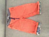 Boden boys cord trousers 12-18mths