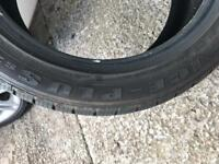 215 50 17 winter tyres used once still like new