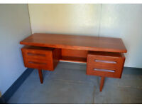 Vintage G plan teak dressing table danish style