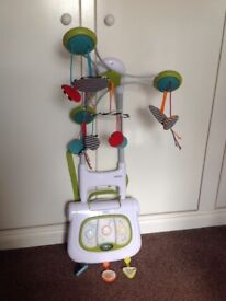 Mamas and Papas Magic Galaxy 3 in 1 cot mobile and activity centre