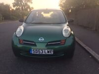 NISSAN MICRA 2003 1.2 AUTOMATIC FOR SALE!!!