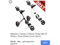 Masters 5 series trolley
