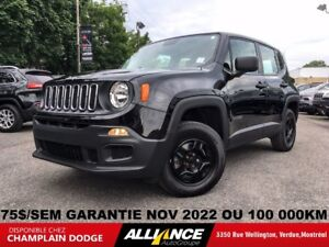 2015 Jeep Renegade SPORT 75$/SEM AUTO,GR ELECTRIQUE IMPECCABLE