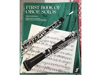 First book on oboe solos