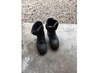 Stihl chain saw boots size 10