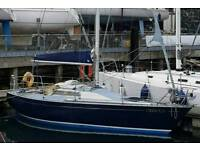 Boat for sale - Ron Holland Golden Shamrock 30ft racing yacht