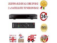 ZGEMMA STAR H2S DVB-S2 ENIGMA2 + 1YR IPTV