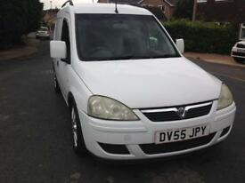 Vauxhall combo van 1.3CDTi 2005 + many upgrades and extras * low mileage*