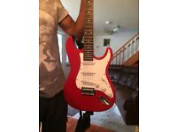 Used Red Shiny Guitar!