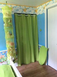 Une chambre bien décorée, vite fait !                    300$