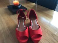 Ladies brand new River Island wedges