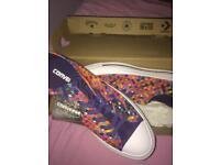 Converse multi coloured size 5.5