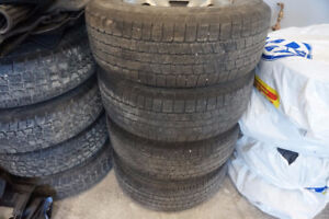 265 70 17 GOOD YEAR WRANGLER RIMS AND TIRES
