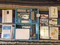 Wii +games and Fit board.