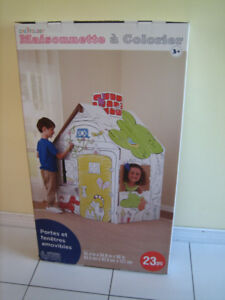 Creatology Color-In Playhouse