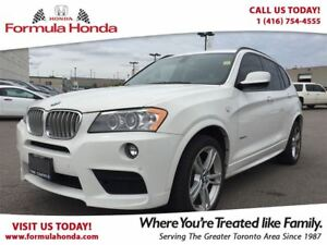 2013 BMW X3 35i | ONE OWNER | ACCIDENT FREE