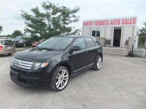 2010 Ford Edge Sport DUAL SUNROOFS LEATHER