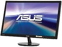 24 inch ASUS LCD monitor VS248 - in box - faulty