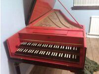 Harpsichord, French Double-Manual, Lionel Gliori 1975