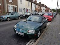 Mazda MX5, current owner for 13 years.