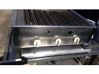 3 Burner Gas Grill Heavy Duty for Commercial Use
