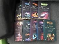 Daphne du Maurier books (9)