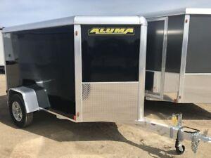 2018 Aluma Ltd. AE58  Enclosed Cargo Trailer