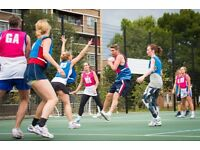 Ladies and Mixed Netball - Highbury