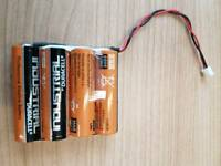 Joblot 100 Battery packs industrial duracell
