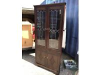 Lovely condition corner cabinet FREE DELIVERY PLYMOUTH AREA
